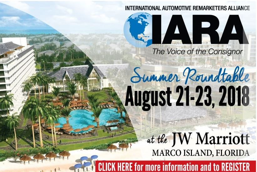 Registration for IARA 2018 Summer Roundtable Now Open