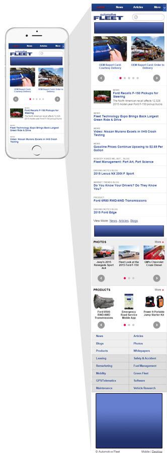 Automotive Fleet - Mobile Advertising