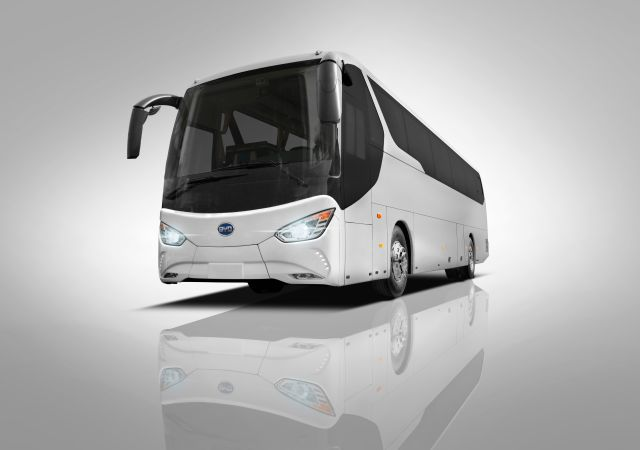 BYD C6 23-ft  Electric Coach Details and Specifications - Metro Magazine